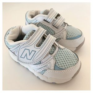 NEW BALANCE Kv516 White Aqua Silver Kids Sneaker